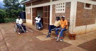 Des anciens combattants en situation d'handicap regroupés dans le site de Gifurwe