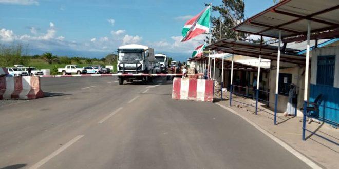 Le poste de frontiere de Gatumba